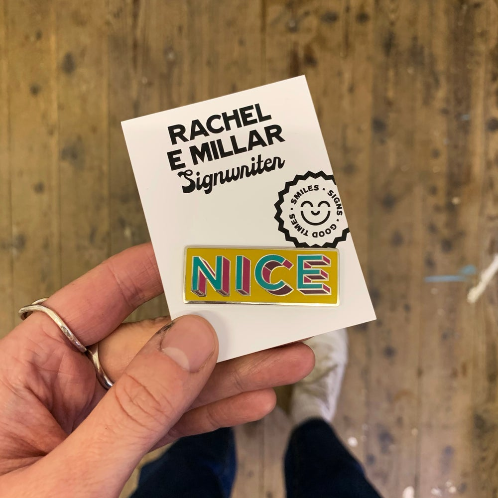 Image of NICE Enamel Pin