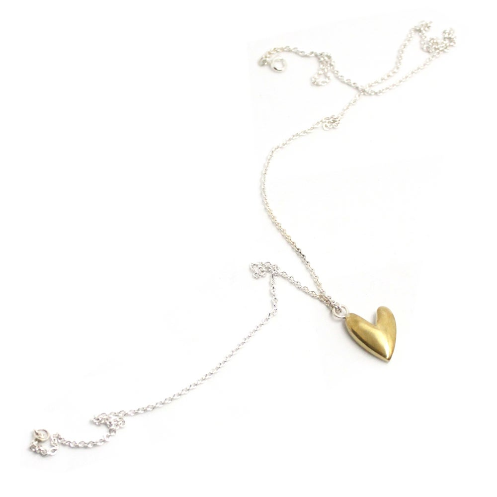 Image of CHUBBY HEART NECKLACE