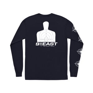 Image of 90East Defense Longsleeve Tee Navy Blue