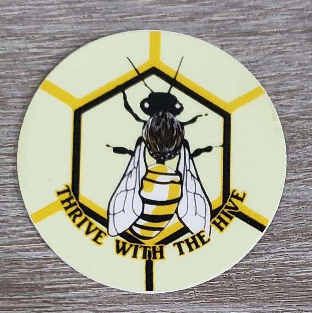 Image of Sticker Bee