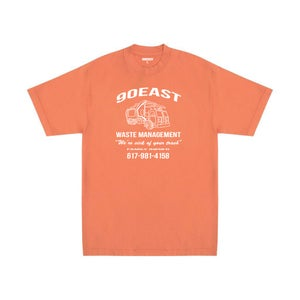 Image of 90East Management Tee Orange