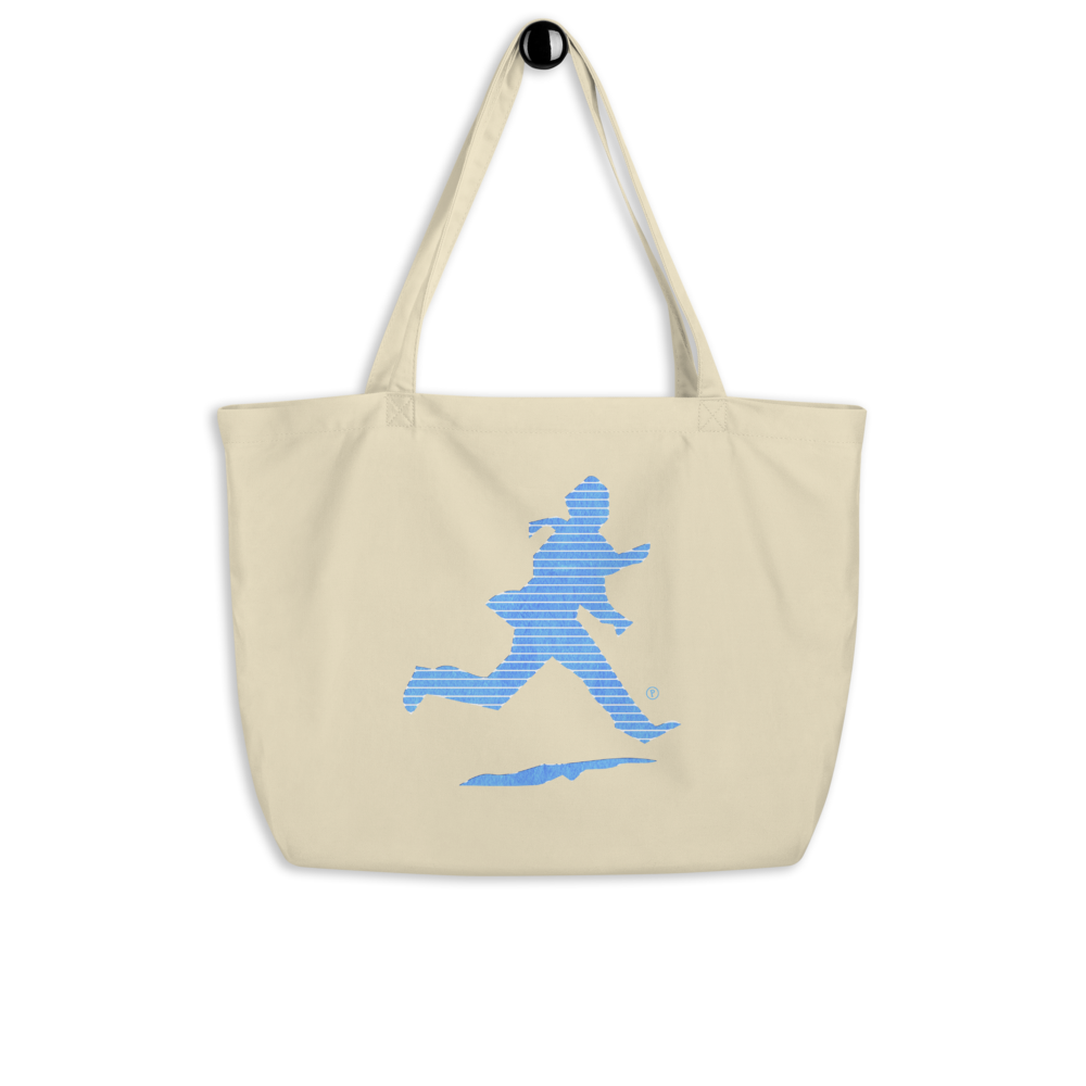 Seen Pique Run Large Organic Tote