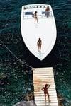 Speedboat Landing, C-Type Print