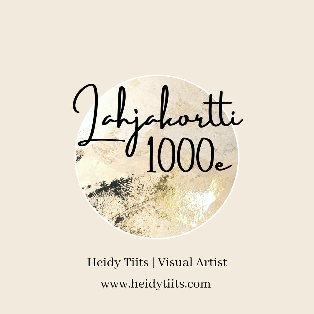 Image of LAHJAKORTTI 1 000 €