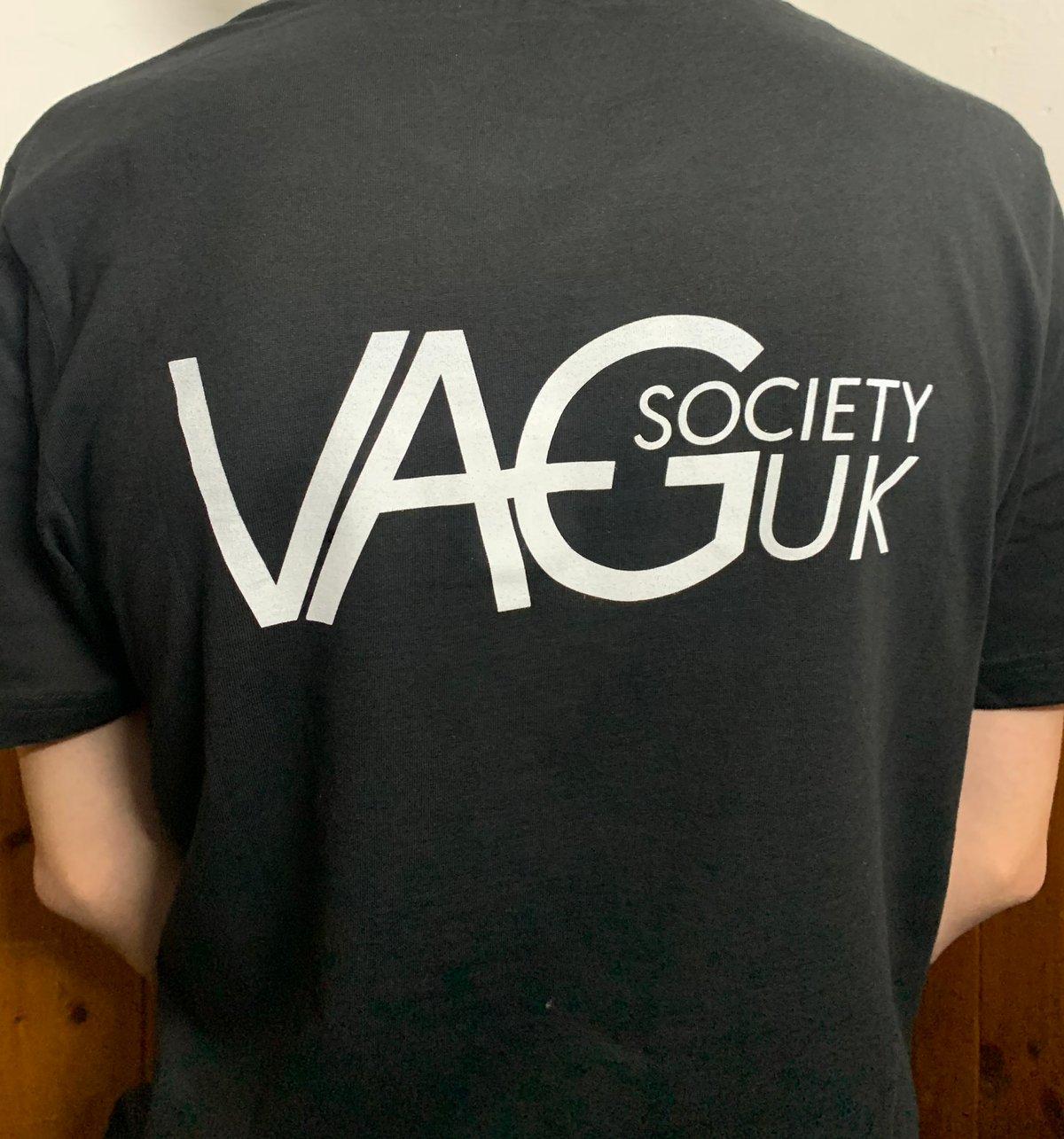 Image of VAGSocietyUK 'VSUK' Black T-Shirt