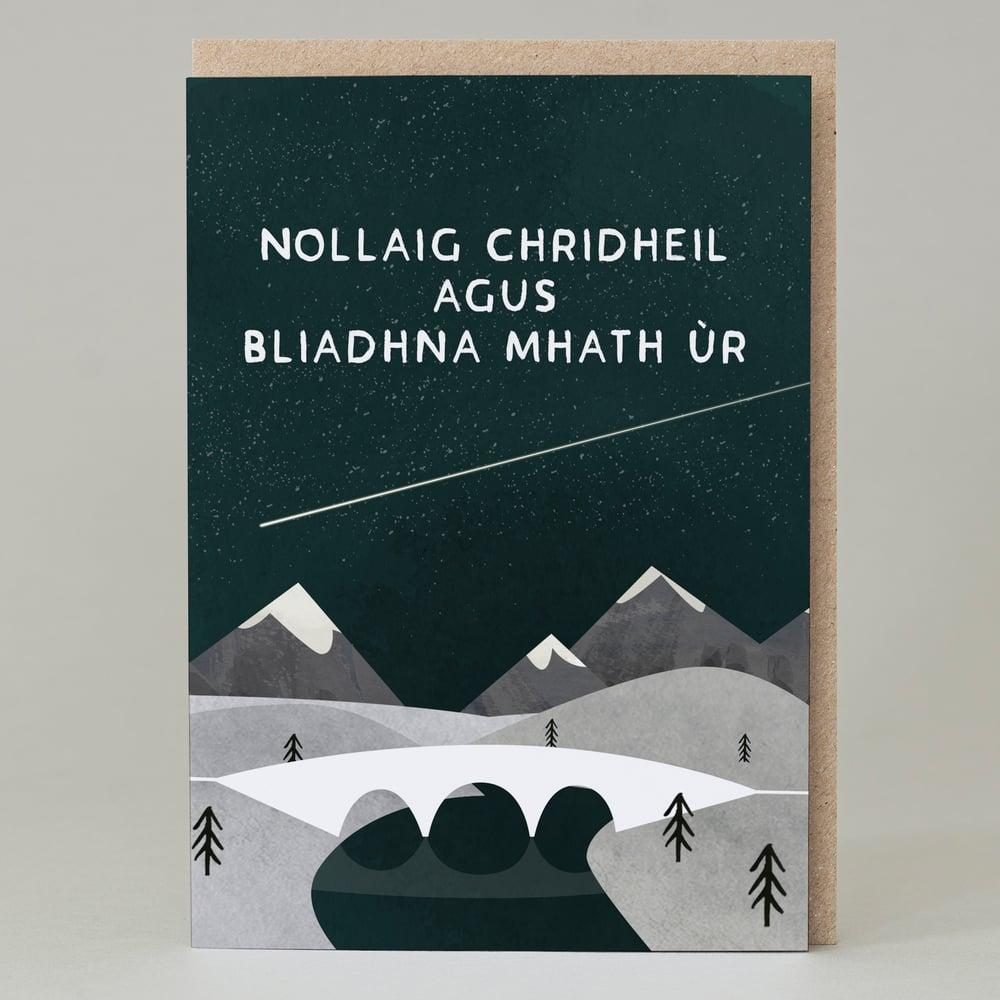 Image of Nollaig chridheil agus bliadhna mhath ùr (Card)
