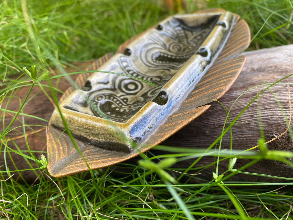 Image of Vintage Duncan Design Tiki Ashtray