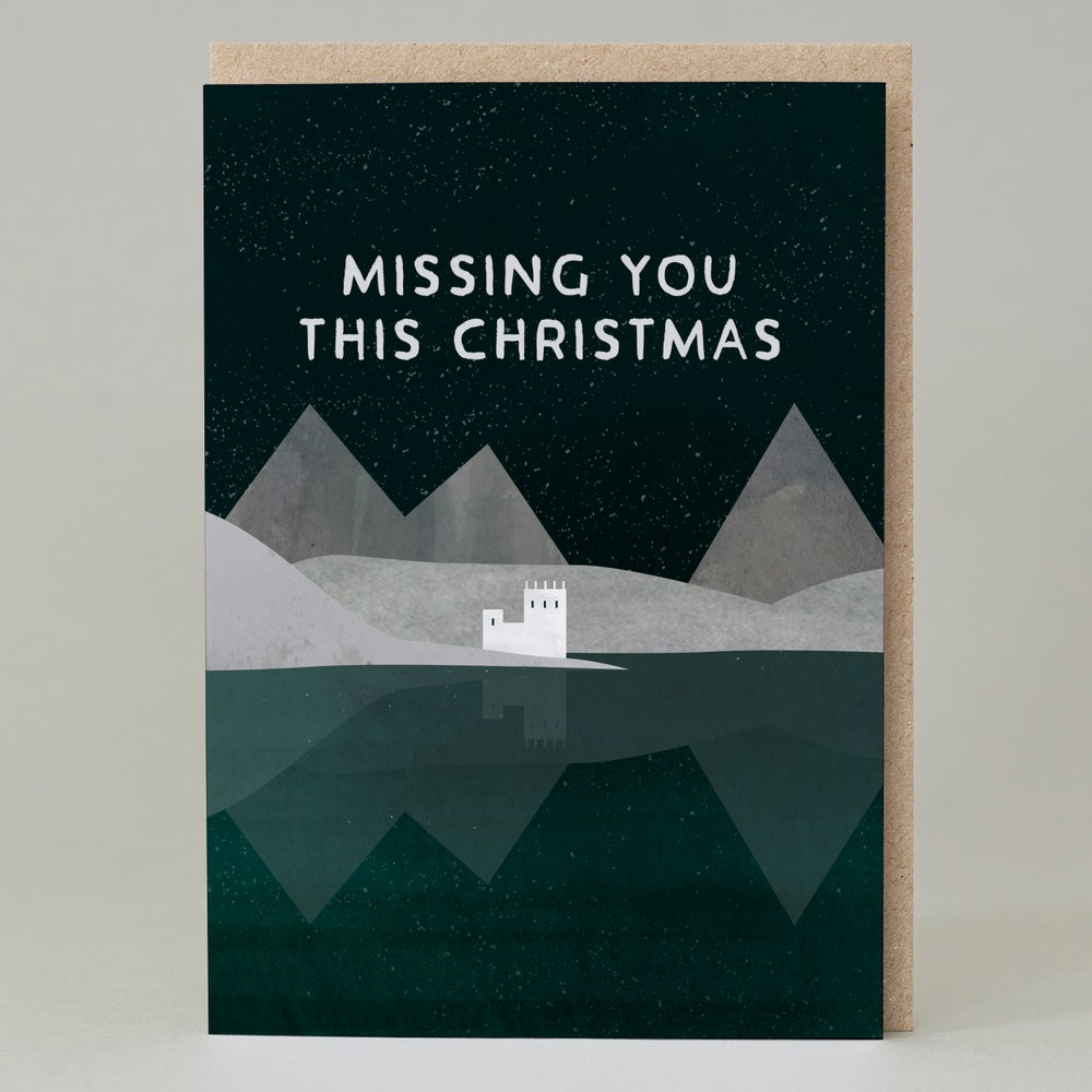 Image of Missing you this Christmas (Card)