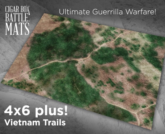 Image of Vietnam Trails --  #1000  -- 6'x'4 plus