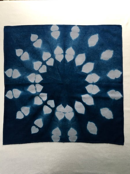 Image of Silver Flower — Bandanna