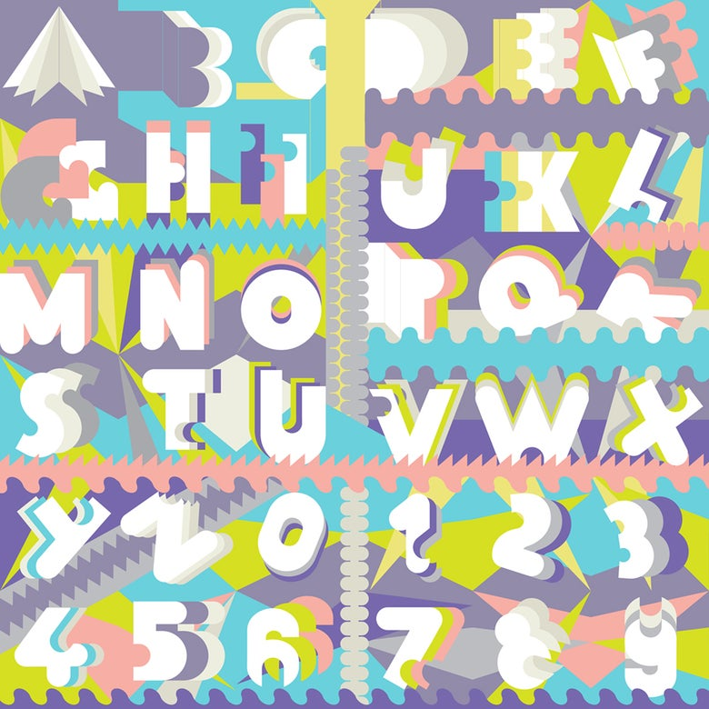 Image of Venus Typeface Print