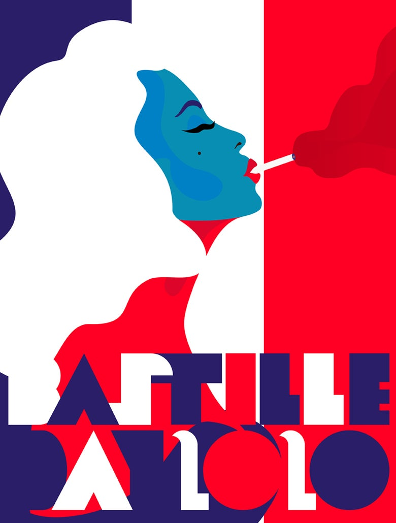 Image of Bastille Day Poster