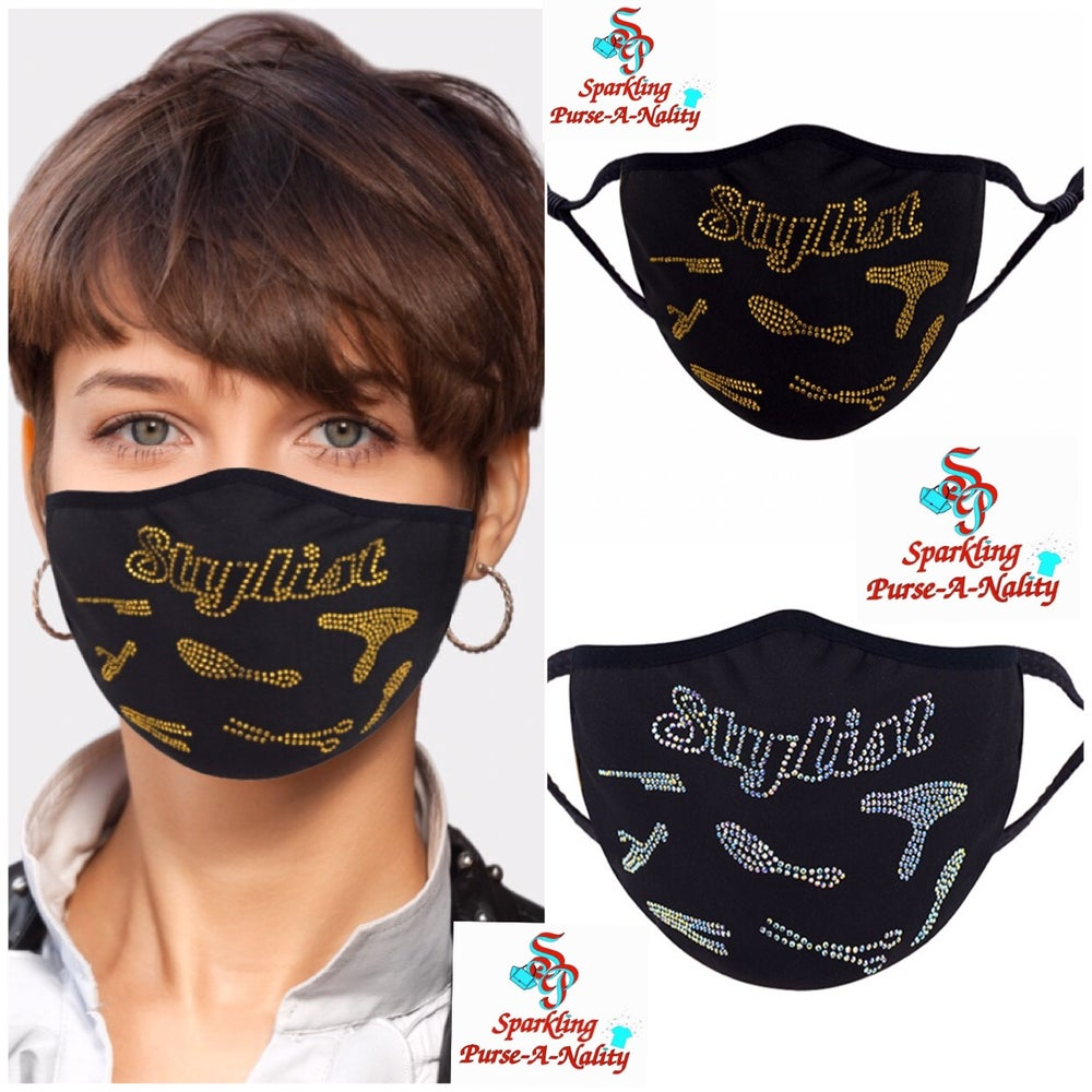 "Image of ""Sparkling"" Stylist Mask"