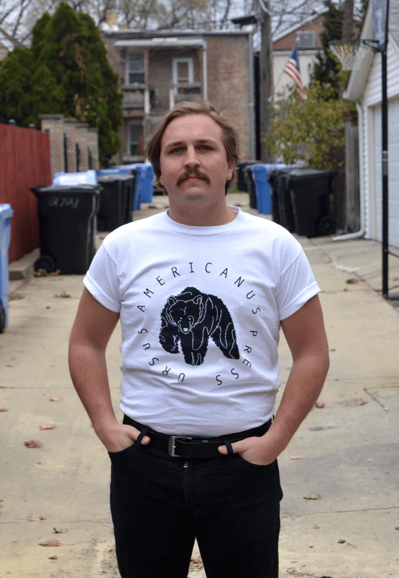 Image of White Circle Colophon Shirt