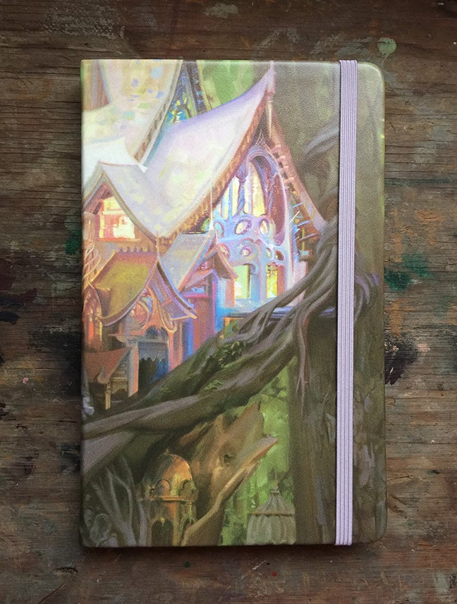 Image of 'The Isalspire' Hardcover Sketchbook