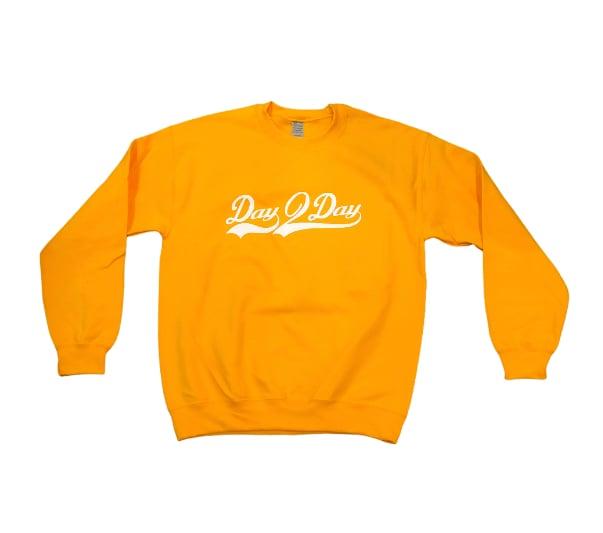 Mustard/White Signature Logo Sweatshirt