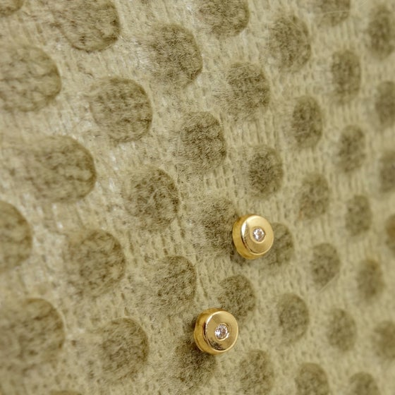 Image of Dot Studs- 14k
