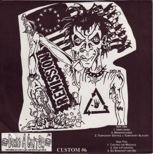 REMISSION-TEMPORARY SERVICE=TEMPORARY SLAVERY 7""