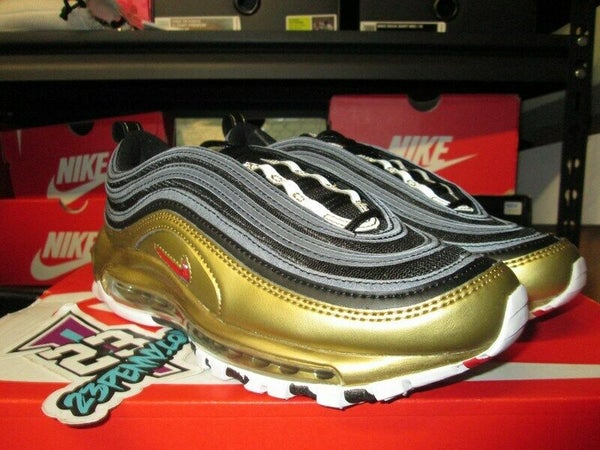 "Air Max 97 QS ""Metallic Gold/Blk""  - areaGS - KIDS SIZE ONLY"