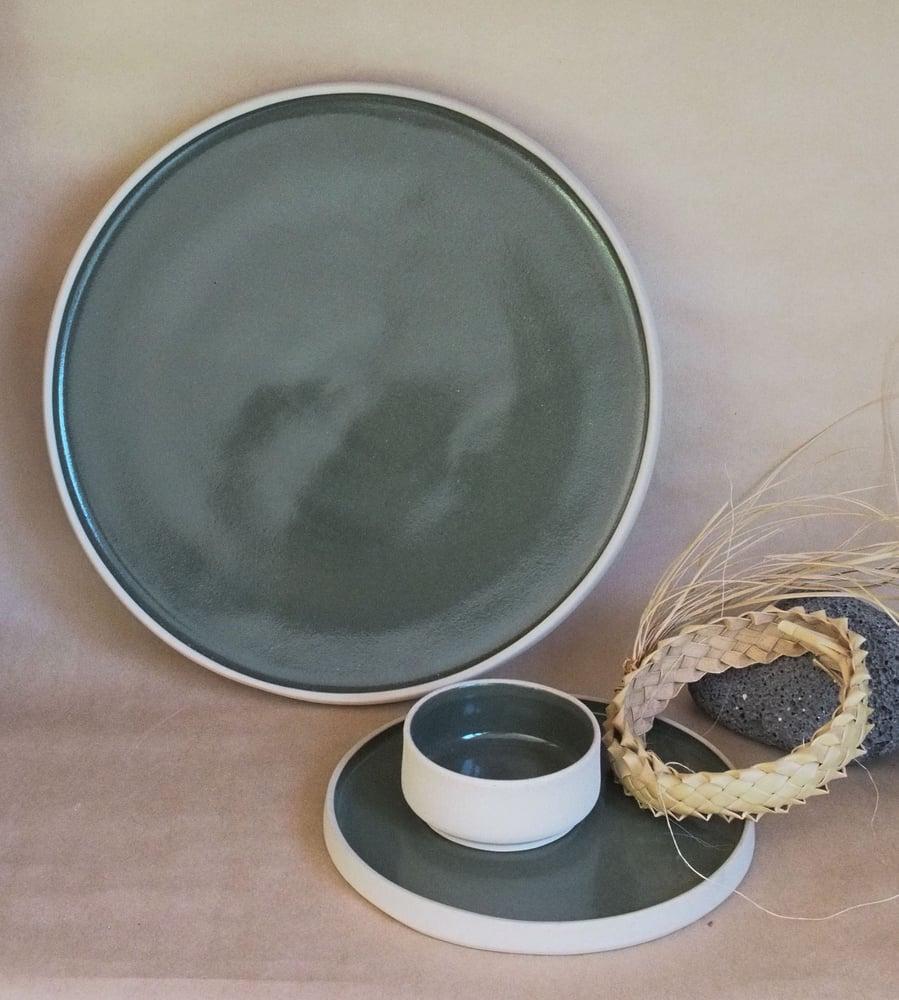 Image of Dessert plate - Pōuriuri