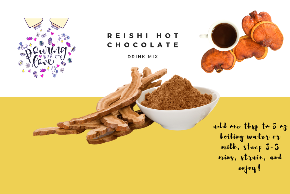 Image of reishi hot chocolate