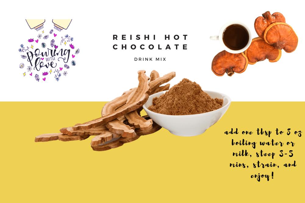 Image of reishi hot chocolate