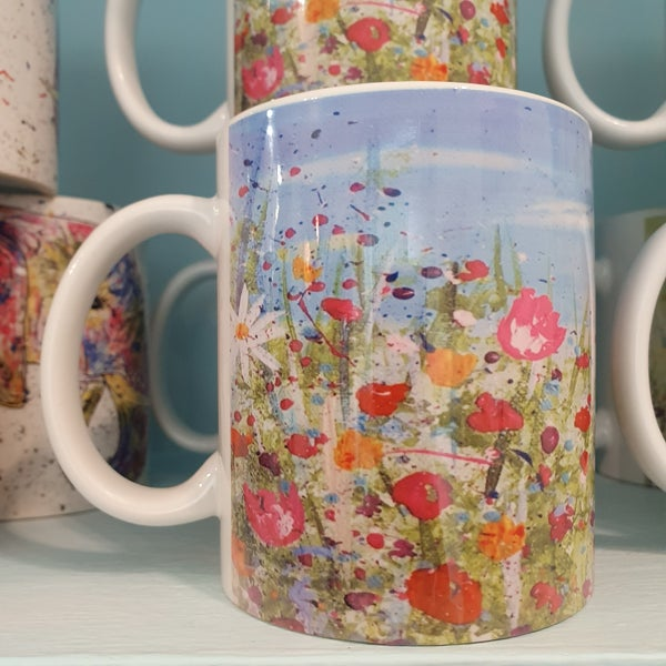 Image of Daisy Mug & Coaster Gift Set