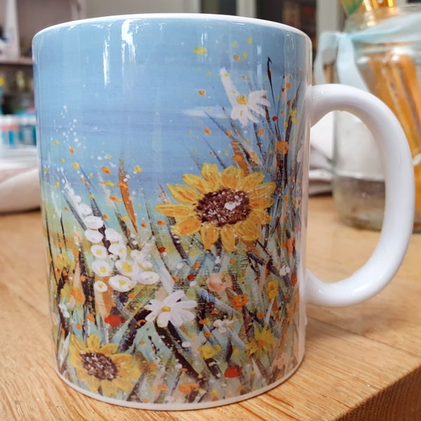Image of Sunflower Mug & Coaster Gift Set