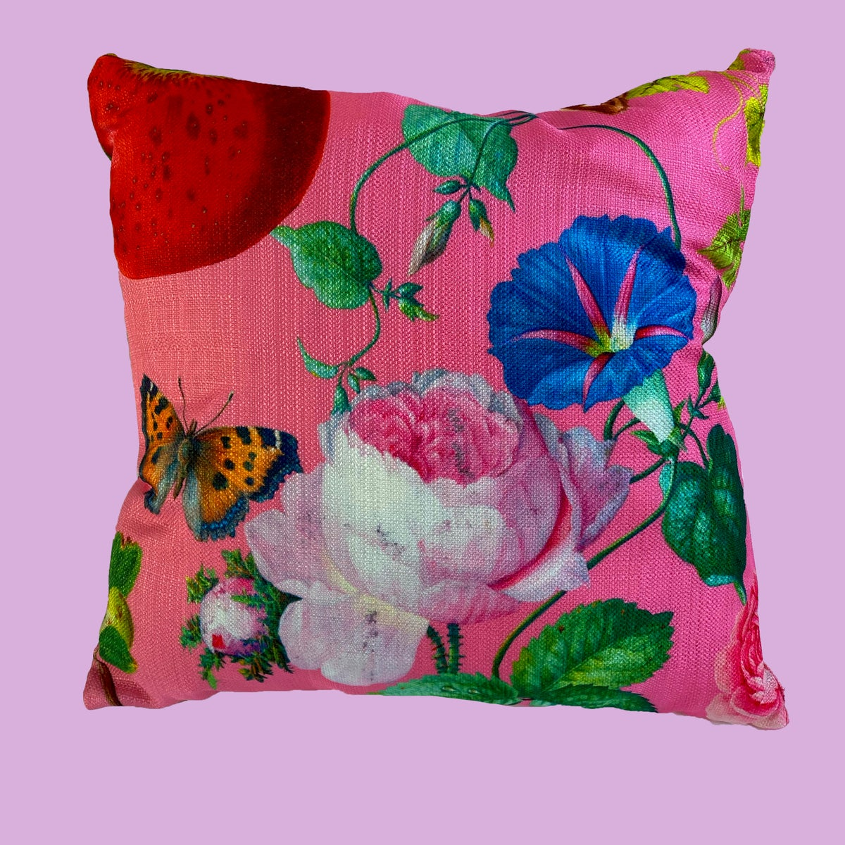 Image of Fruits from the Garden and Field - Throw Pillows
