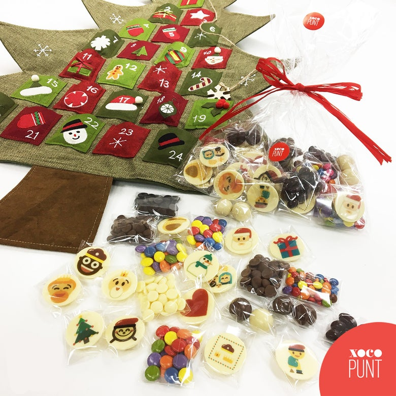 Image of PACK DE XOCOLATES PER CALENDARI D'ADVENT