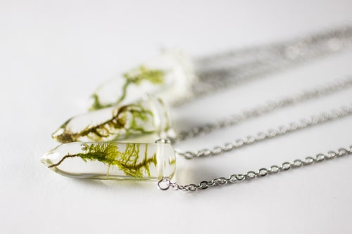 Image of Limited Time Grave Moss Necklaces!