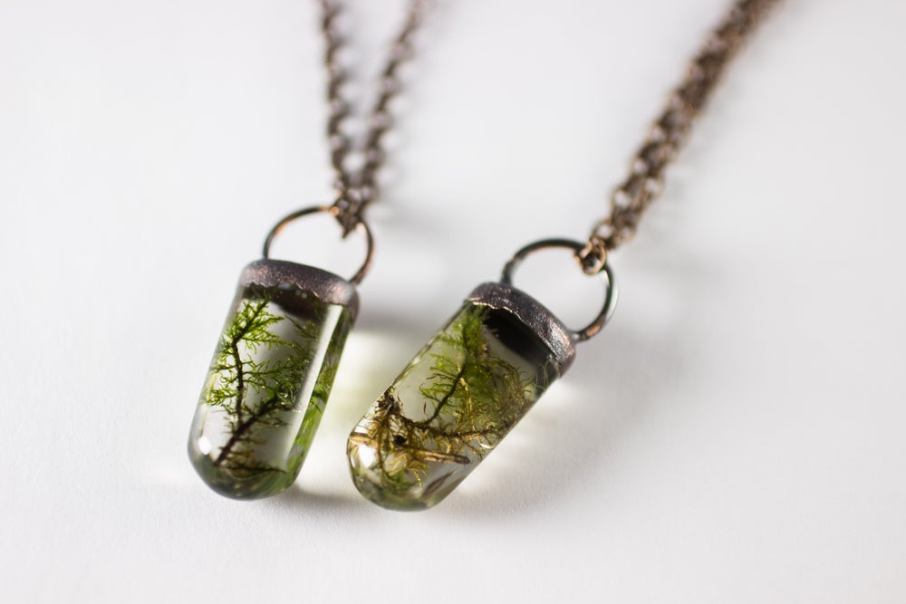 Image of Limited Time Copper Grave Moss Necklaces!