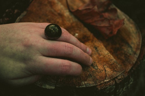 Image of Limited Grave Moss Copper Rings!