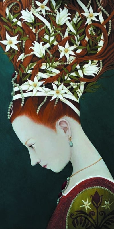 Image of ROSALIND LYONS - 'MAYBE SHE DOTH BUT COUNTERFEIT' - LIMITED EDITION FINE ART PRINT