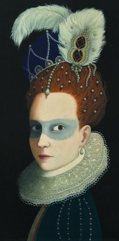 Image of ROSALIND LYONS - 'FAIR BEFALL YOUR MASK' - LIMITED EDITION FINE ART PRINT
