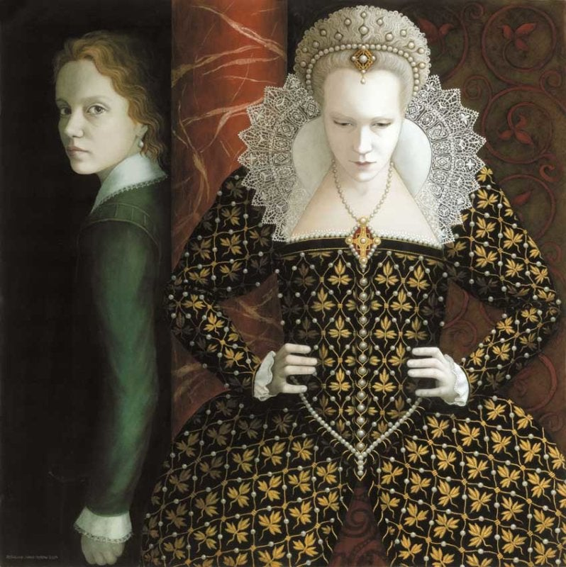 Image of ROSALIND LYONS - 'CESARIO AND OLIVIA' - LIMITED EDITION FINE ART PRINT