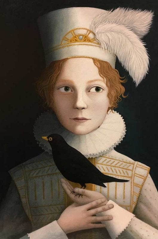 Image of ROSALIND LYONS 'A MOST RARE BOY' -LIMITED EDITION FINE ART PRINT