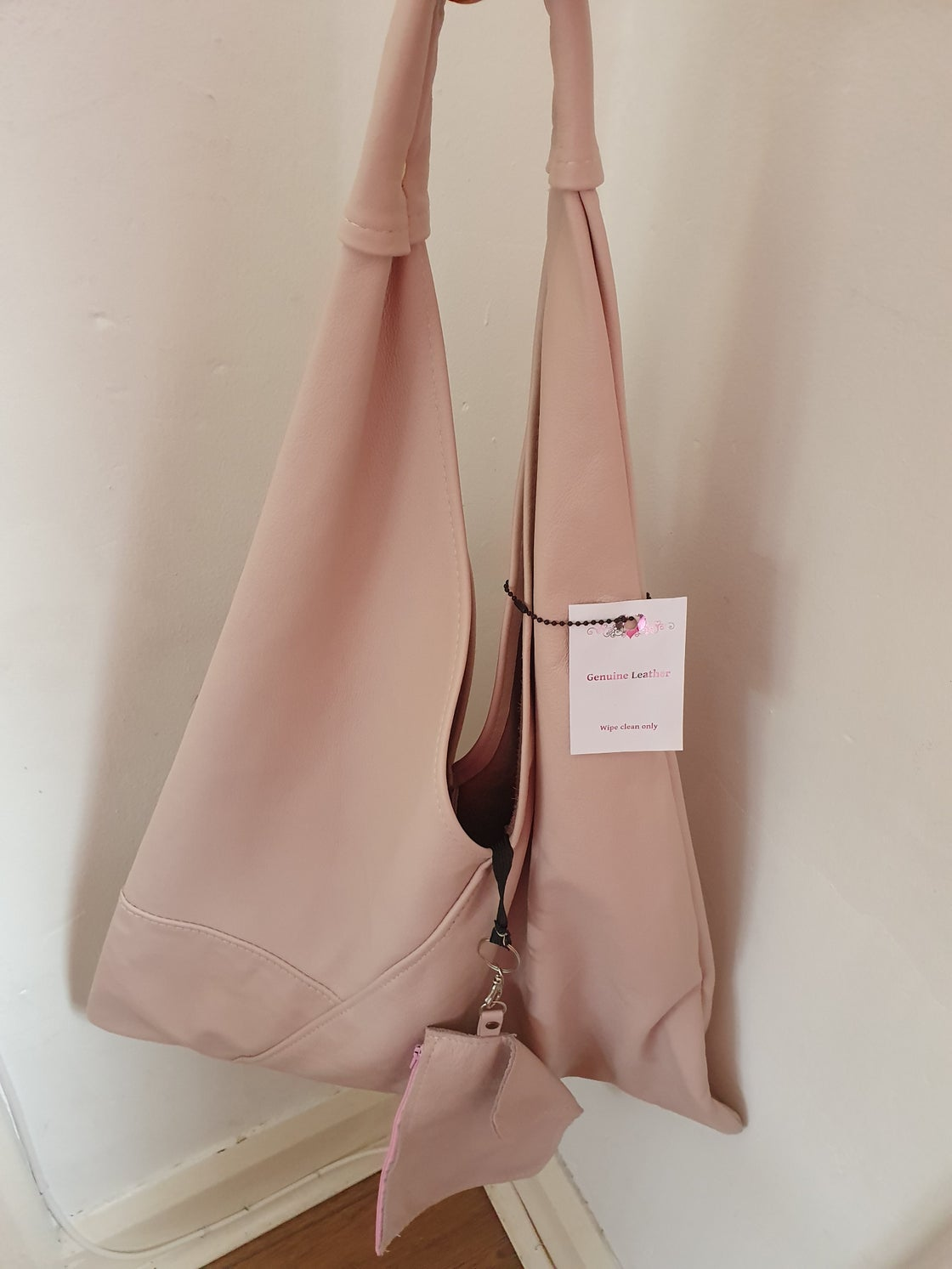 Image of Kaluha butter soft leather LIGHT PINK