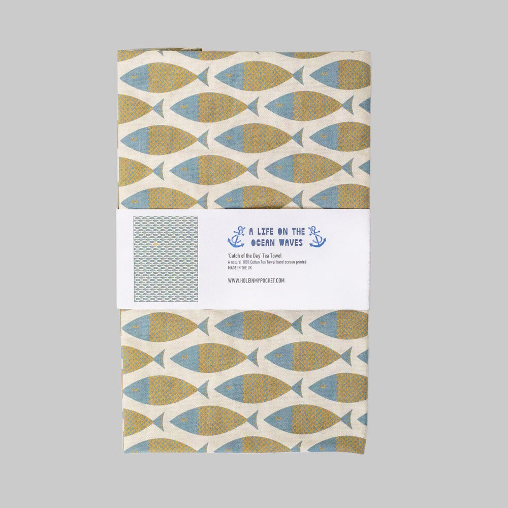 Image of 'Catch of the Day' (Tea Towel)