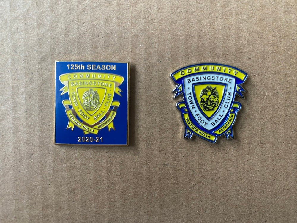 Image of BTCFC Metal Pin Badges