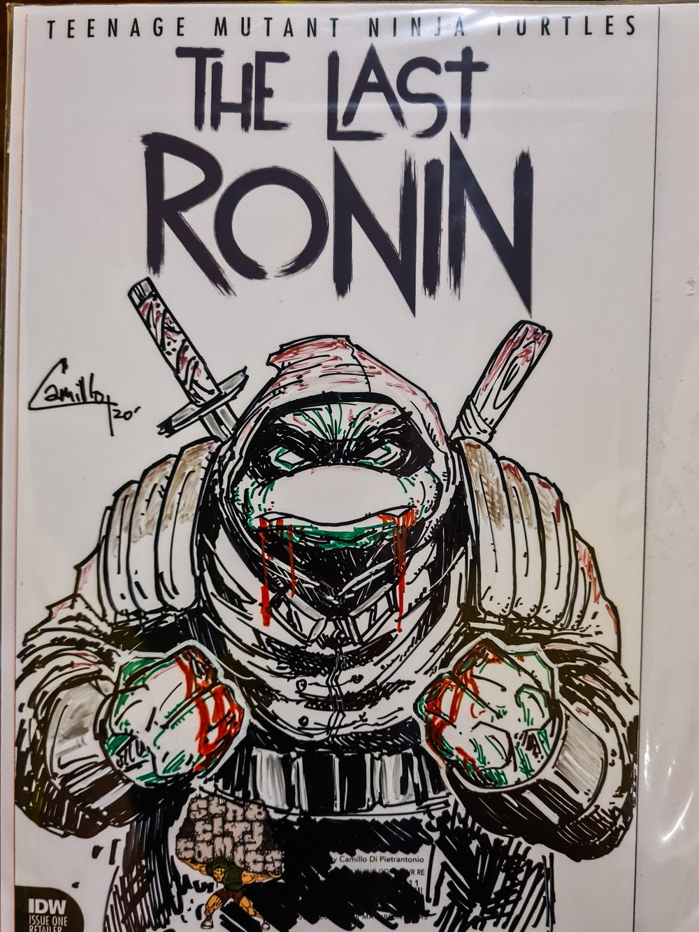 The last ronin issue 1 slab city exclusive