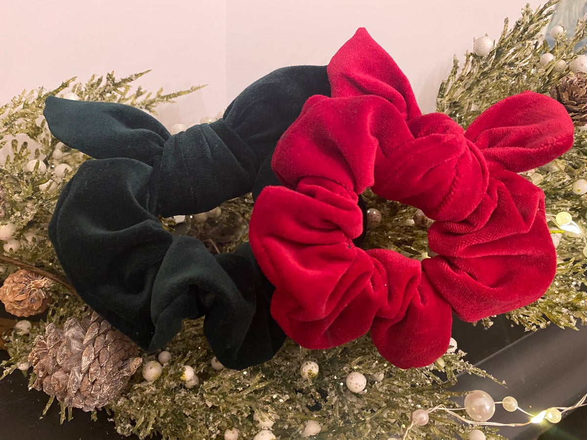 The Holly and The Ivy Scrunchies