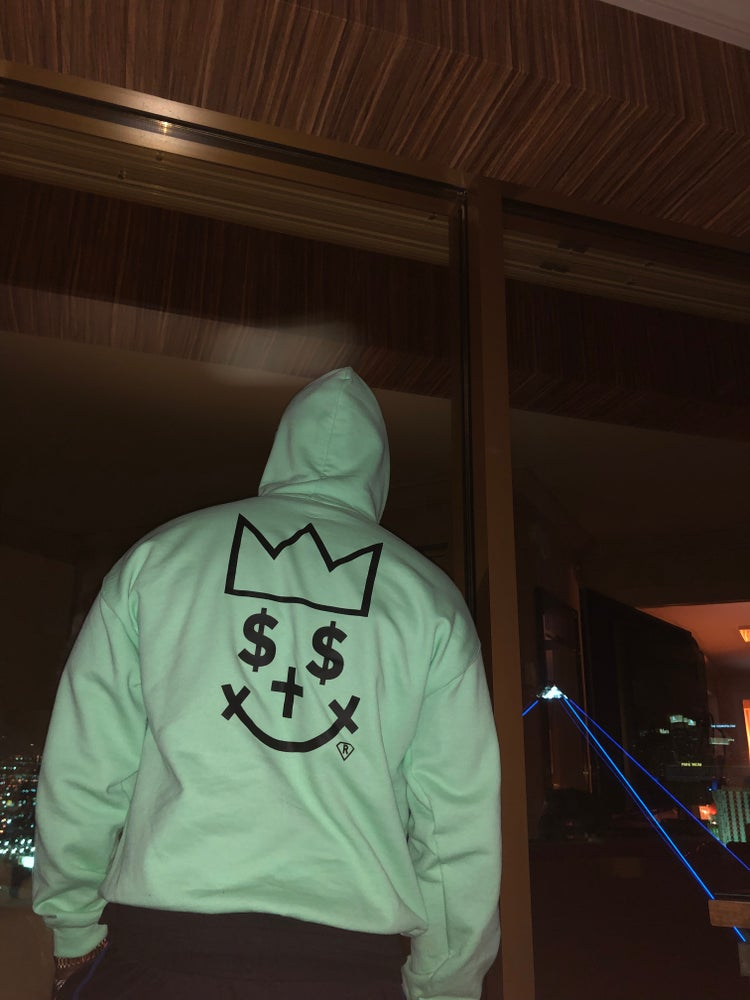 Image of Mint Green Almighty Hoodie