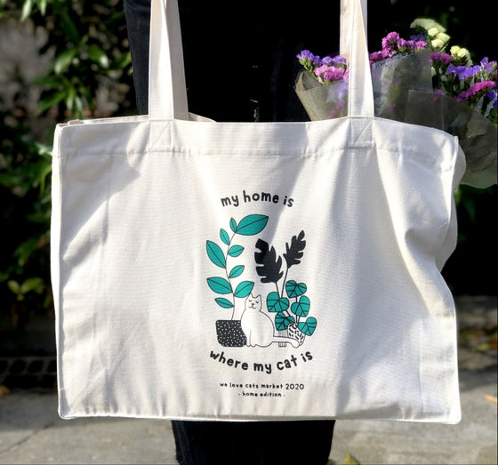 Image of Pre-venta Tote bag We Love Cats Market 2020