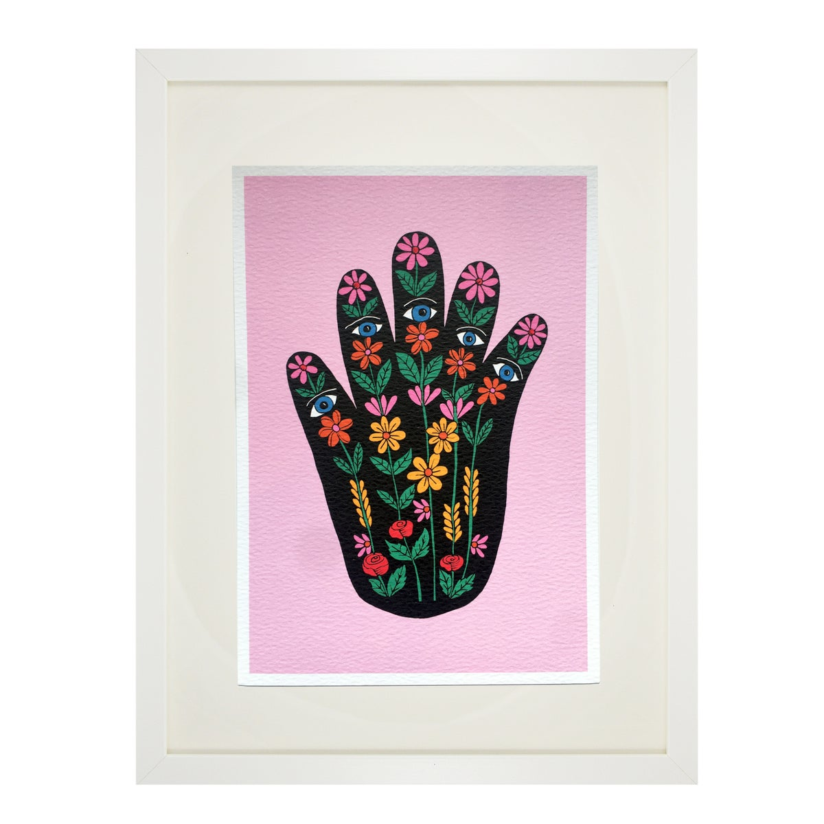 Floral Hand A5 Print
