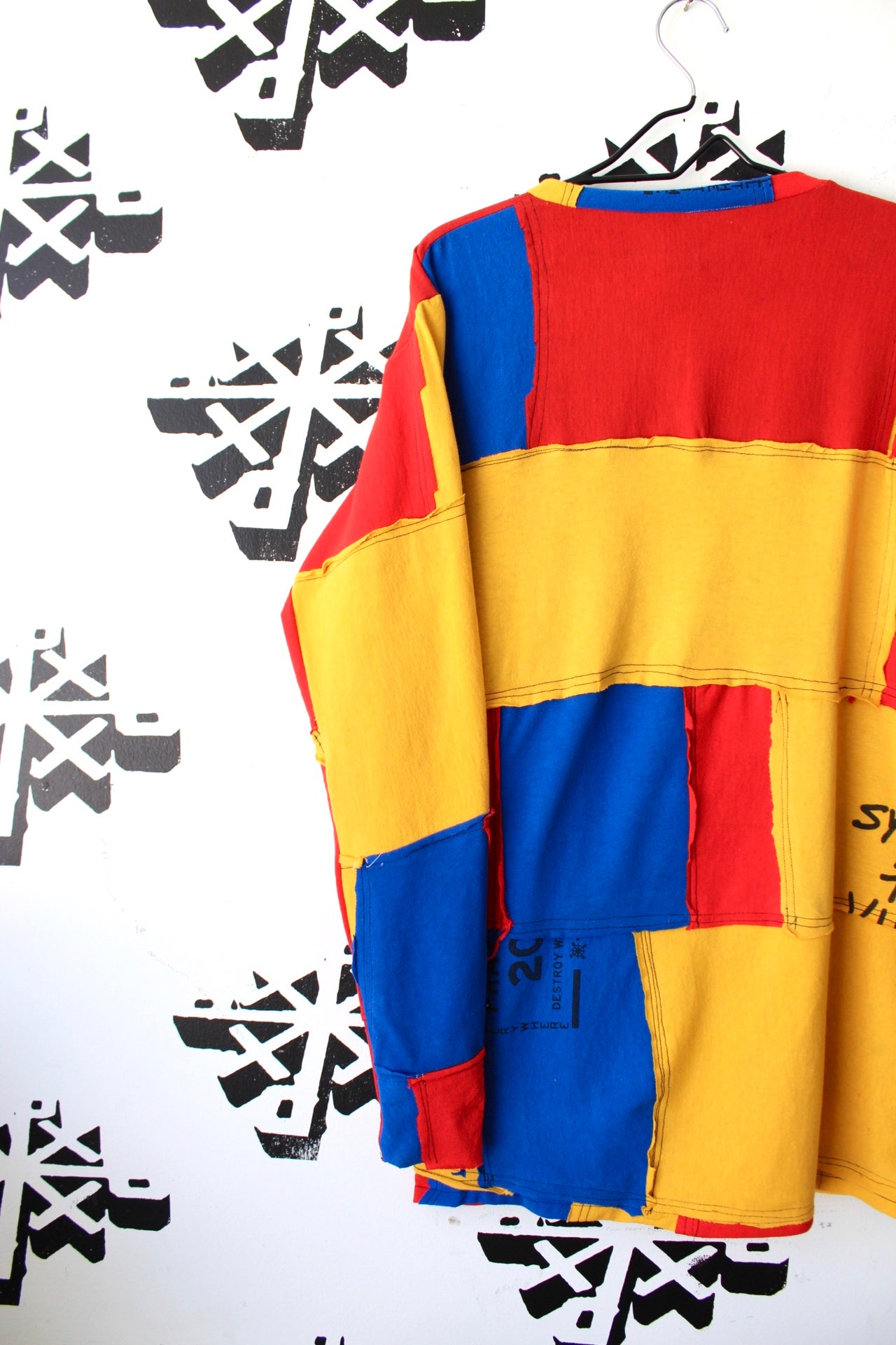 Image of now it's this cut and sew long sleeve