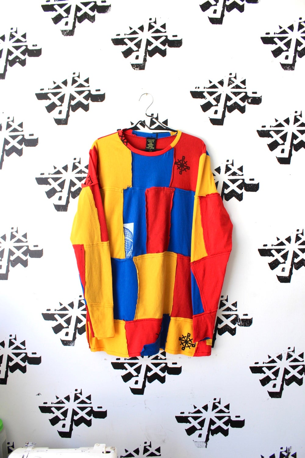 now it's this cut and sew long sleeve