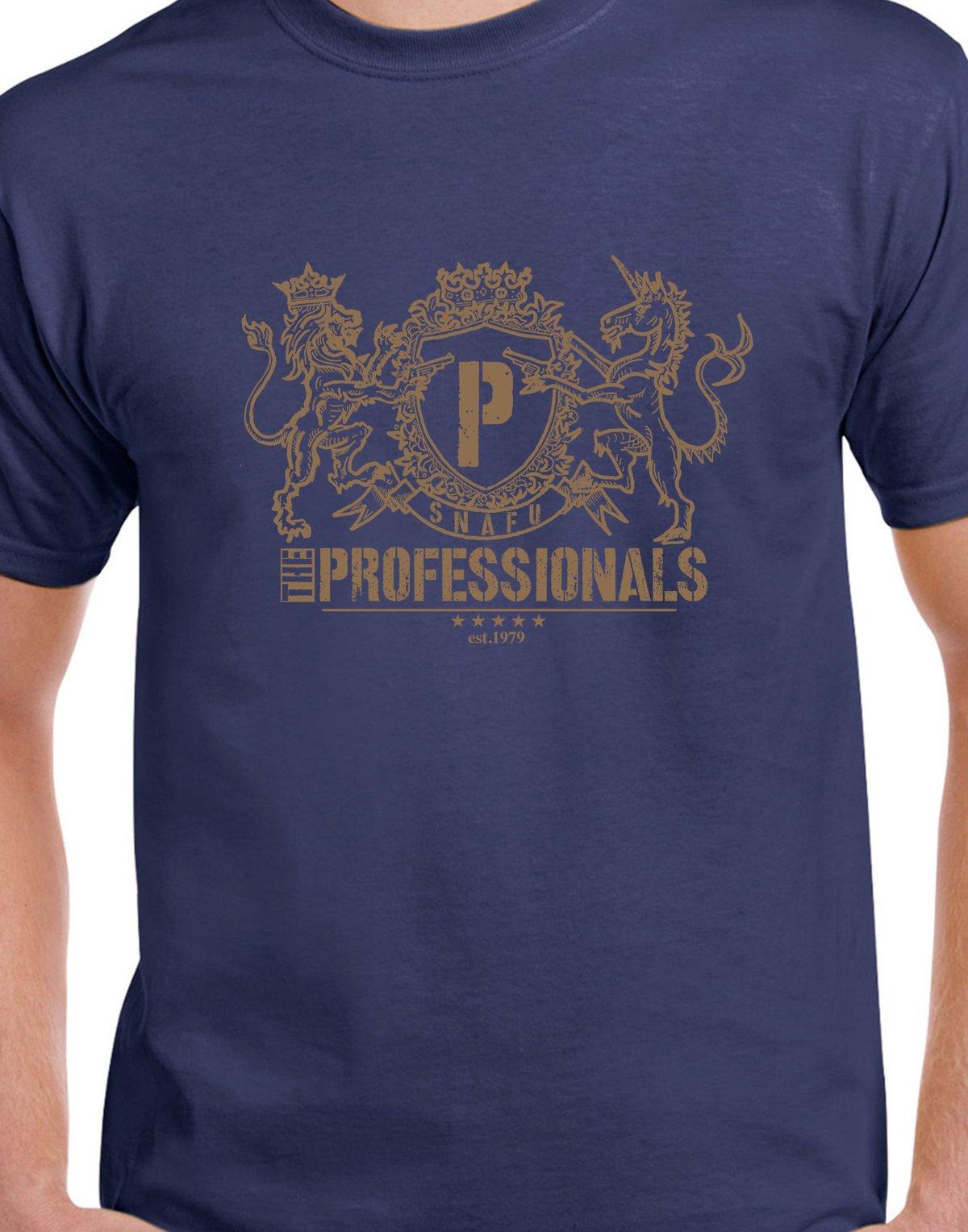 Image of NEW Professionals Royal Logo T-shirt