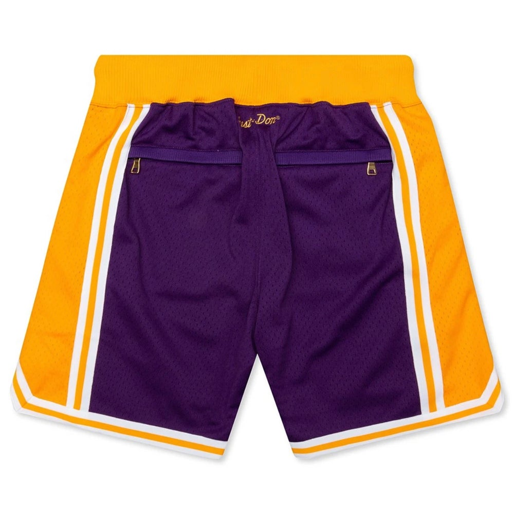JUST ★ DON BASKETBALL SHORTS 'LAKERS' 96-97 ROAD SHORTS