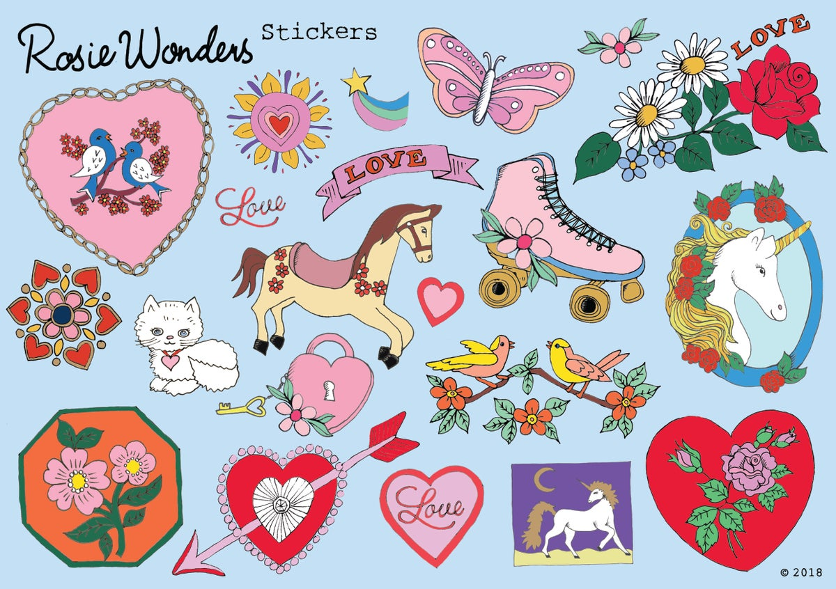 Love Sticker Sheet